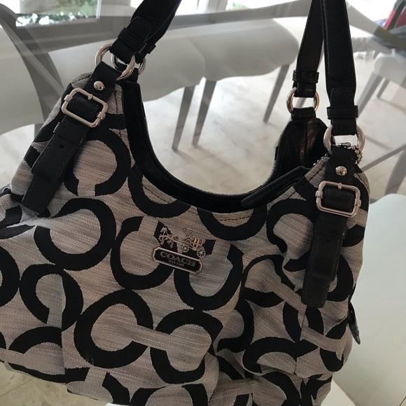 Coach Handbags - Coach Shoulder Bag (practically brand new)
